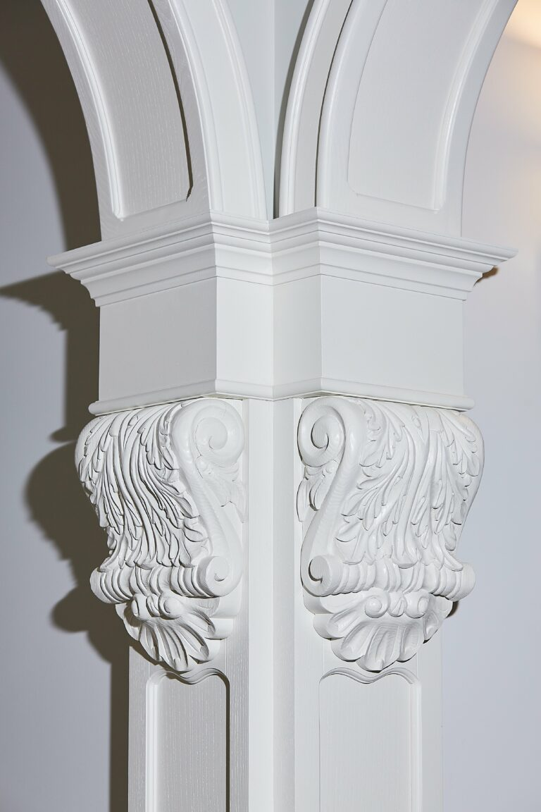 Декоративный элемент арки
